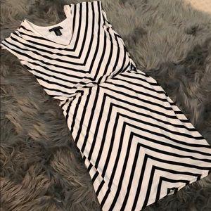 White Houde Black Market Dress